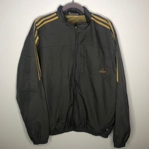 Vintage Adidas Gray Windbreaker